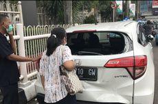 Kecelakaan di Pondok Indah, Dua Motor dan Dua Mobil Rusak