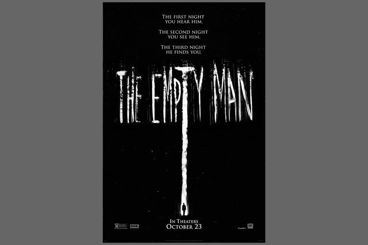 Poster film horor The Empty Man (2020)