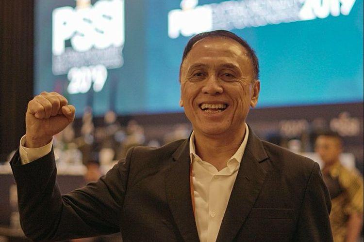 Mochamad Iriawan alias Iwan Bule akhirnya terpilih sebagai Ketua Umum PSSI periode 2019-2023 melalui pemilihan pada Kongres Luar Biasa PSSI, di Hotel Shangri-La, Jakarta, Sabtu (2/11/2019).
