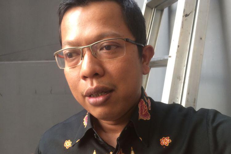 Politisi Partai Golkar Ichsan Firdaus saat ditemui di bilangan Menteng, Jakarta Pusat, Kamis (26/7/2018).