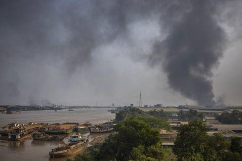 Pengunjuk Rasa Myanmar Bantah Bakar Pabrik-pabrik China, Tuding Ada Setting-an Militer
