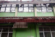 Bangunan SMKN 24 Jakarta Rusak Berat, Atap 8 Kelas Roboh