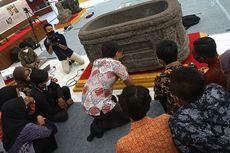 Mempelajari Aksara Jawa Kuno di Museum Airlangga Kediri