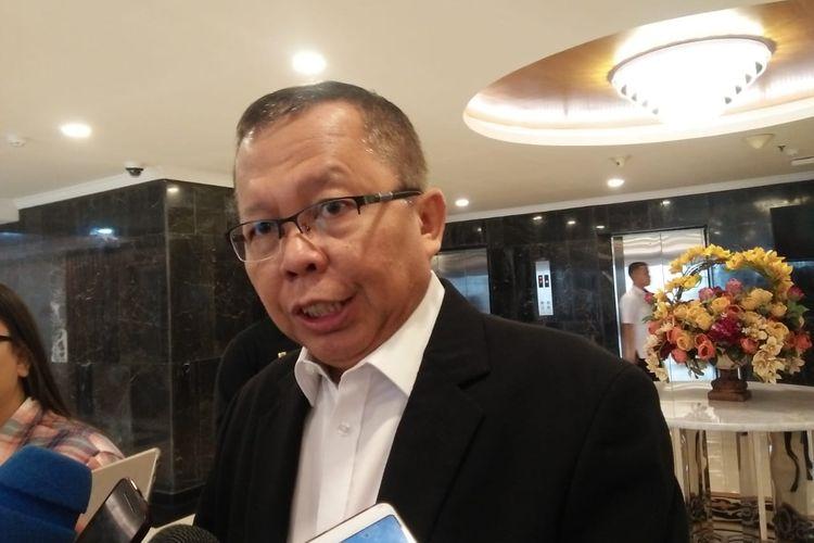 Sekretaris Jenderal Partai Persatuan Pembangunan (PPP) Arsul Sani di Kompleks Parlemen, Senayan, Jakarta, Rabu (11/12/2019).