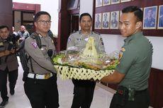 HUT ke-74 TNI, Polda Kirim 660 Tumpeng ke Markas TNI Seluruh Jatim