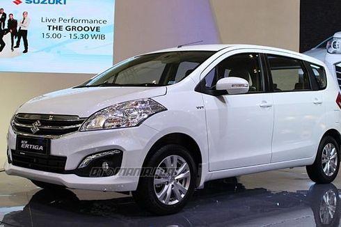 Suzuki Ertiga Terfavorit dan Terlaris di GIIAS 2015