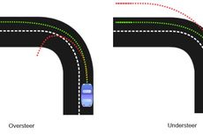 Perbedaan Mobil Penggerak Depan dan Belakang saat Over Steer