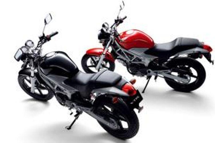 VTF, model Honda yang menggunakan mesin 250 cc dua silinder V-Twin.