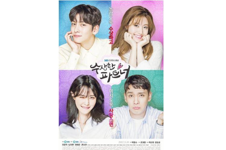 Suspicious Partner merupakan drama hits korea selatan tahun 2017 yang dibintangi Ji Chang Wook. Akan segera tayang di NET TV