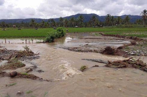2 Hari Diguyur Hujan Deras, Kabupaten Lahat dan Empat Lawang Diterjang Banjir dan Longsor