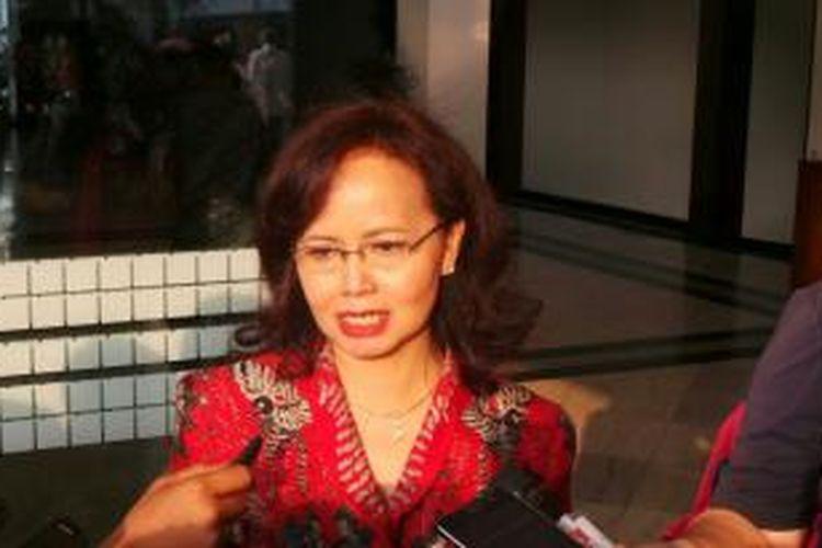 Anggota sekaligus juru bicara Pansel KPK, Betti Alisjahbana.