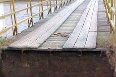 Jembatan Putus, Distribusi Hasil Pertanian di Pedalaman Aceh Utara Jadi Lumpuh