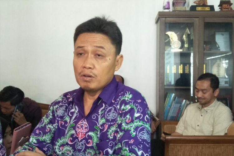 Ketua Ikatan Ahli Kesehatan Masyarat Indonesia (IAKMI) Ede Surya Darmawan di Gedung Mochtar, Jakarta Pusat, Selasa (3/3/2020)