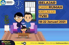 Jadwal TVRI Belajar dari Rumah Hari Ini, Selasa 19 Januari 2021