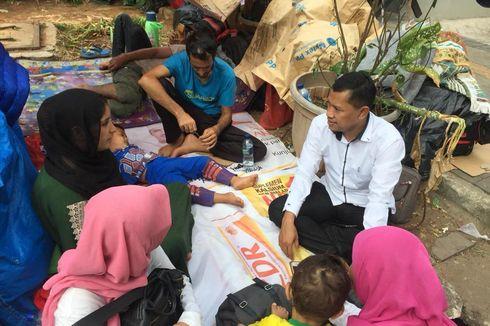 Tunggu Kepastian UNHCR, Pencari Suaka Masih Bertahan di Trotoar Kebon Sirih