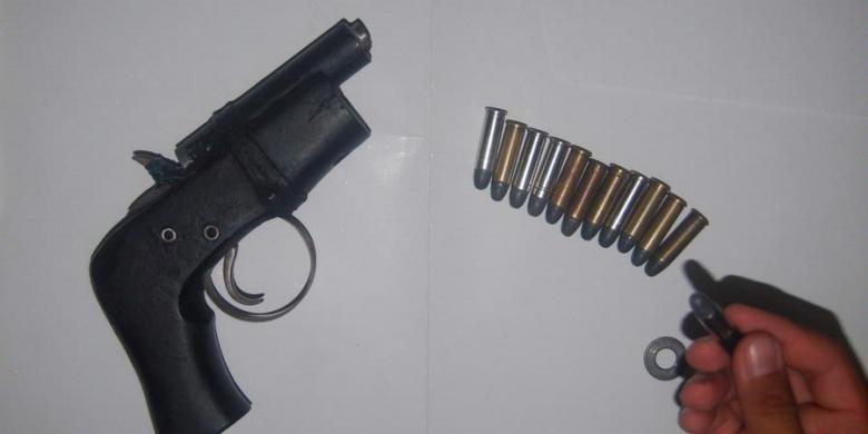 Ilustrasi senjata rakitan