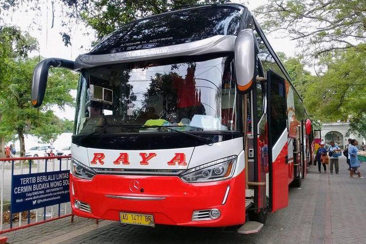 Armada Bus Raya.