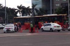 Alasan Ahok Perbolehkan Motor Lintasi Jalan Thamrin Tengah Malam