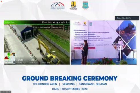 Kementerian PUPR Gandeng BUJT Garap 3 Konstruksi Tol Pondok Aren-Serpong