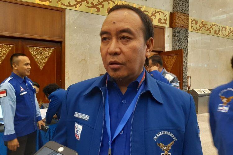 Ketua DPP PD Didik Mukrianto di JCC Senayan, Jakarta, Rabu (11/12/2019)