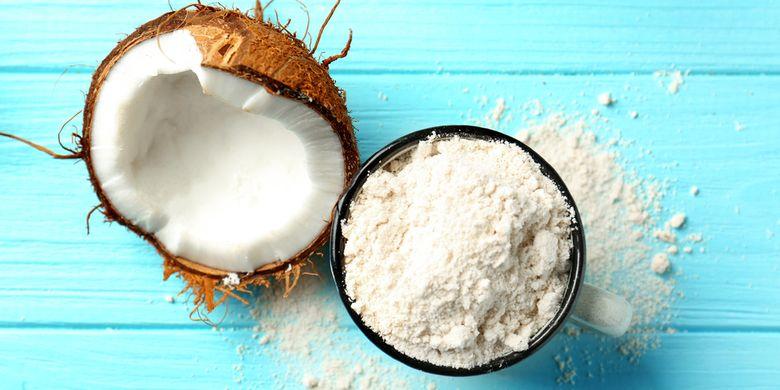 ilustrasi tepung kelapa