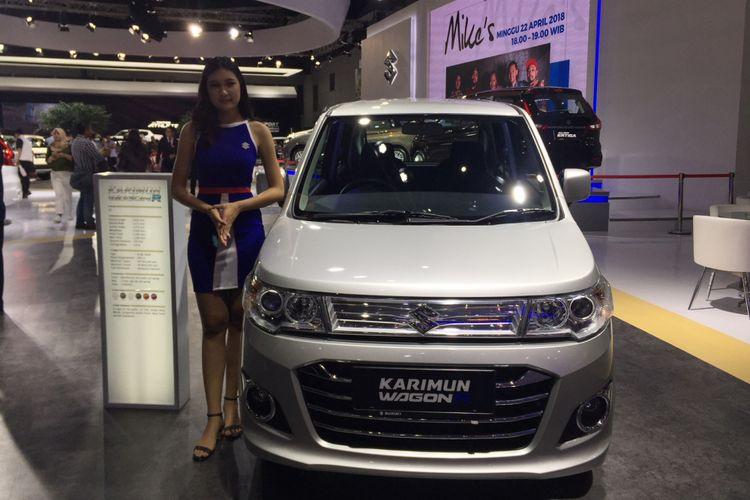 Suzuki Karimun Wagon R di IIMS 2018