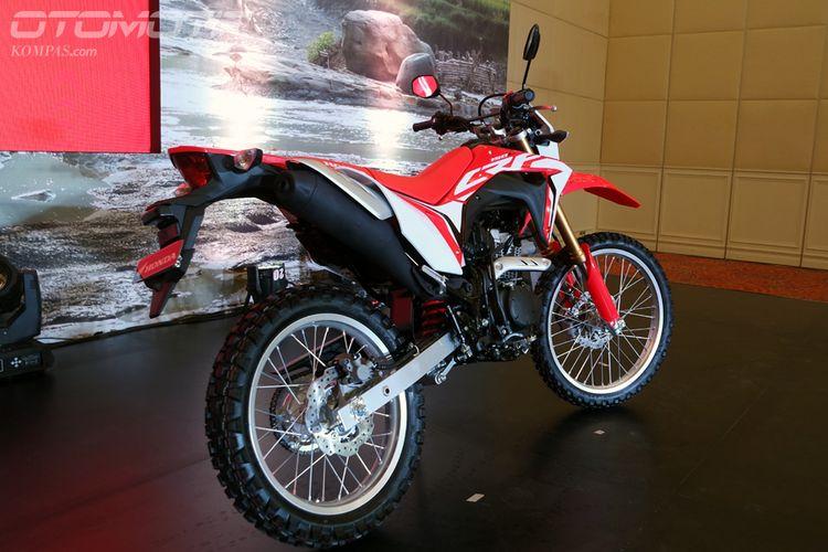 Honda CRF150L.