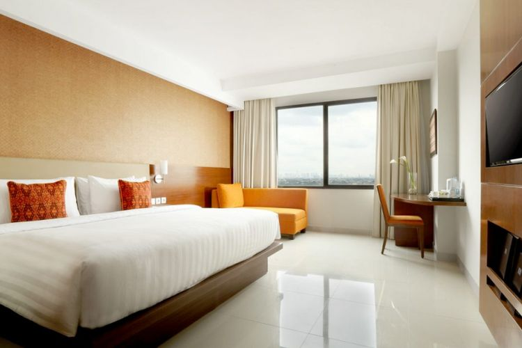 Kamar di Hotel Santika Premiere Bintaro