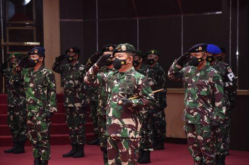 30 Pati TNI Naik Pangkat, Pangkostrad Dudung Abdurachman Jadi Letnan Jenderal