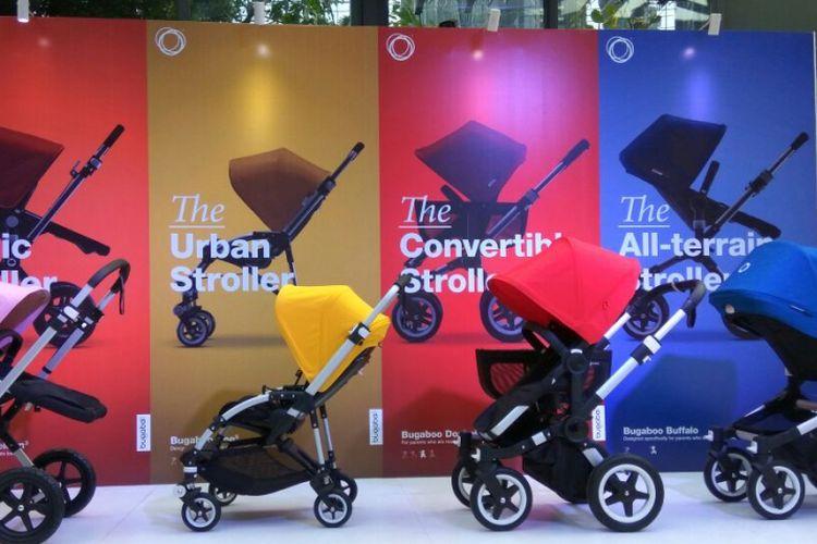 Koleksi stroller premium dari Bugaboo.