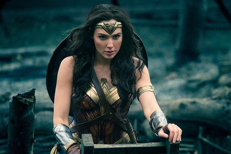 Gal Gadot dalam film Wonder Woman