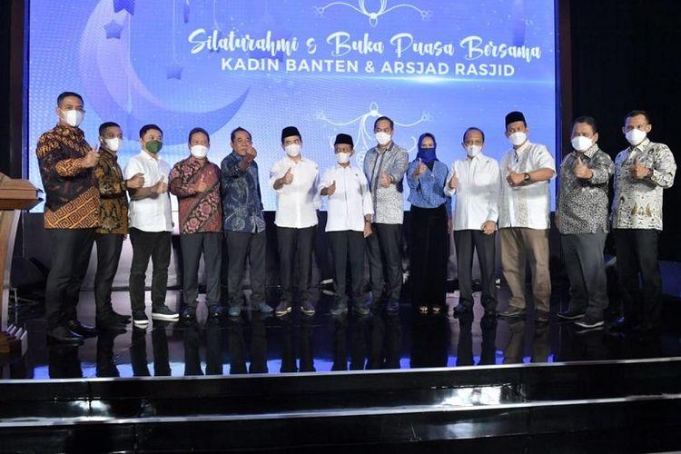 Arsjad Rasjid dalam acara buka puasa bersama Kadin Banten (Dok. Kadin)