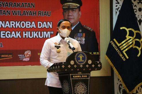Napi yang Jadi Pengendali Narkoba di Riau Dipindahkan ke Blok Khusus