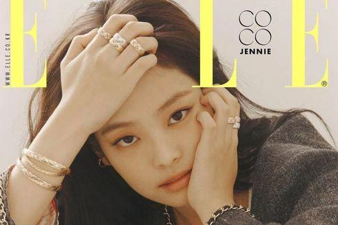 Wajah Jennie BLACKPINK Hiasi Sampul Majalah ELLE Edisi Oktober