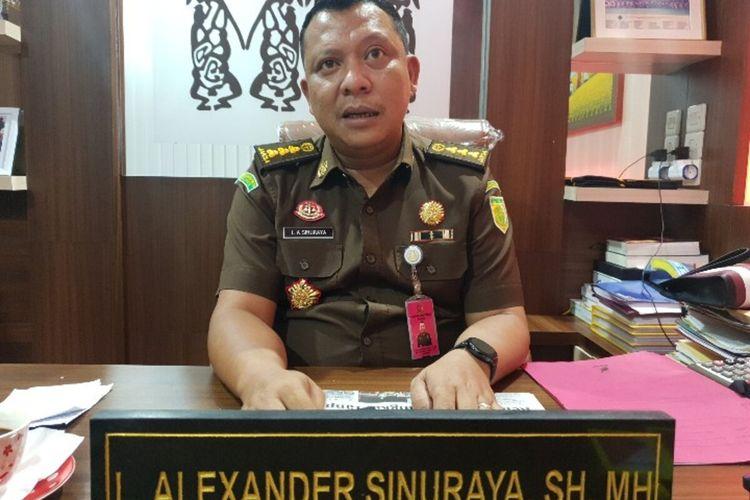 Aspidsus Kejati Papua, Alex Sinuraya
