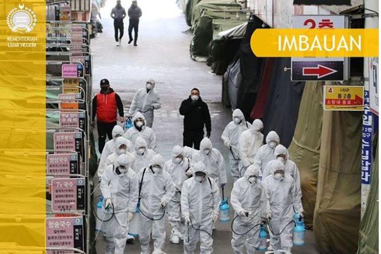 Imbauan Kemenlu RI untuk WNI di Korea Selatan