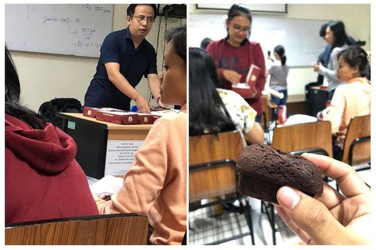 Seorang dosen Kristen dari Universitas Kristen Maranatha, Bandung, Rusli Ginting, memberikan toleransi kepada mahasiswanya untuk berbuka puasa.
