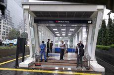 Banjir di Jalan Sudirman, Eskalator Tiga Stasiun Bawah Tanah MRT Dimatikan