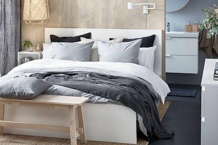 Inspirasi kamar tidur yang nyaman dari IKEA.
