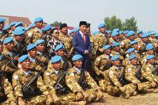 Naik Panser Anoa, Presiden Jokowi Lepas 970 Pasukan Perdamaian PBB