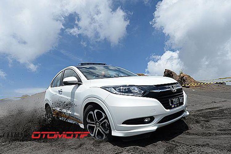 Honda HR-V coba menaklukkan arena menantang di Pasir Berbisik, Bromo, Pasuruan, Jawa Timur