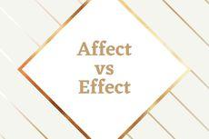 Bedanya Affect dan Effect