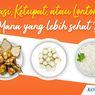 INFOGRAFIK: Nasi, Ketupat, Lontong, Mana yang Lebih Sehat?