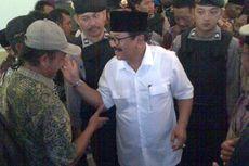 Kampanye di Malang, Soekarwo Naik Helikopter