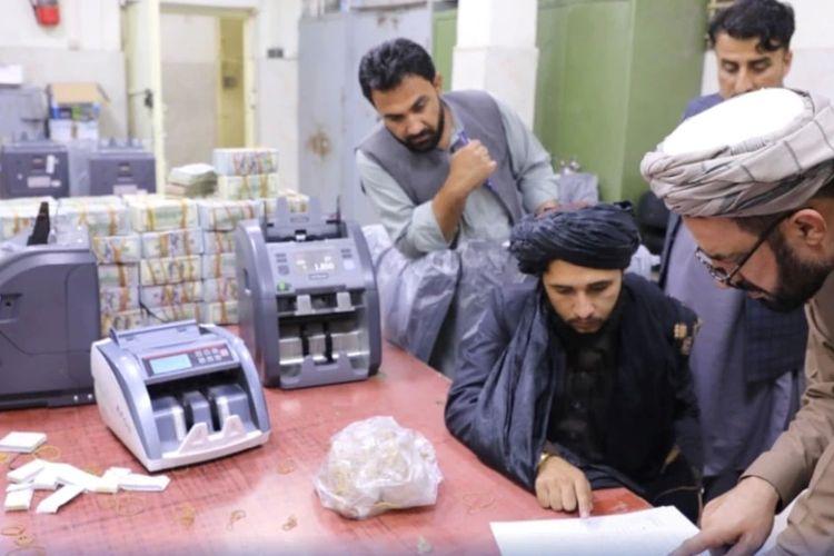 Ilustrasi rezim Taliban menyita jutaan dolar dari mantan pejabat tinggi Afghanistan.
