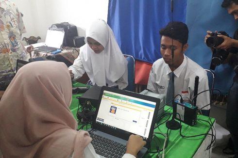 Jelang Pemilu, Perekaman E-KTP Pelajar SMA di Jakarta Utara Dikebut