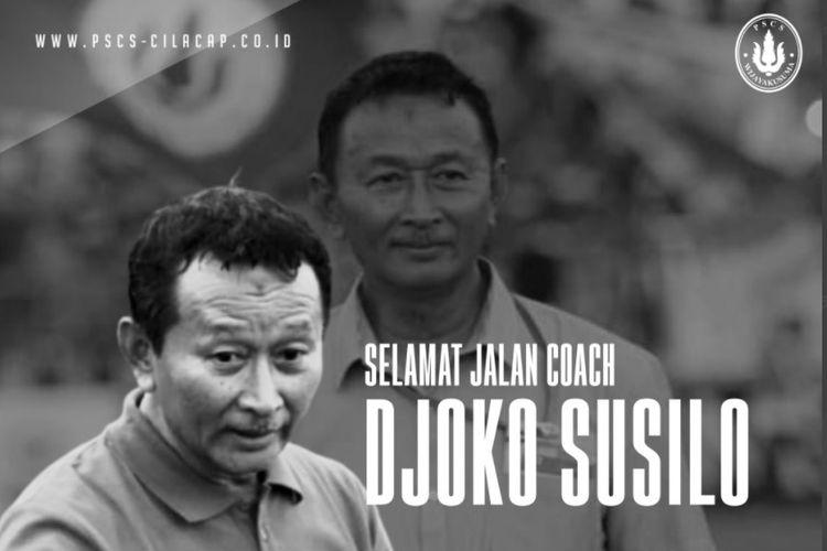 Mantan pelatih Madura United dan PSCS Cilacap, Djoko Susilo.