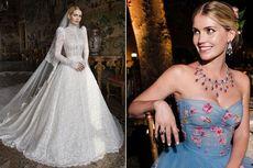 Detail 5 Gaun Lady Kitty Spencer untuk Pernikahannya