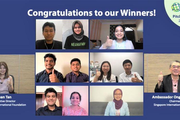 Pemenang Global Young Social Entrepreneurs yang diadakan Singapore International Foundation.