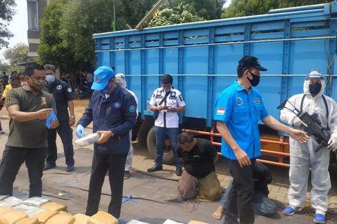 Bawa 404 Kg Ganja dari Aceh, Sopir dan Kernet Dijanjikan Upah Rp 48 Juta